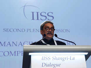 """""""Collective action and cooperation is the way forward to deal with the maritime threat, like terrorism, piracy and natural disaster,"""" said Parrikar."""