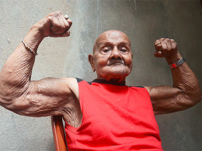 Former Mr Universe and celebrated bodybuilder Manohar Aich