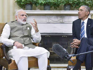 President Barack Obama in his meeting with the Prime Minister praised India's record on nuclear non-proliferation.