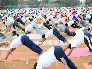 Ambassador of India to Egypt Sanjay Bhattacharyya welcomed the growing number of Yoga practitioners and noted the historic nature of the event.