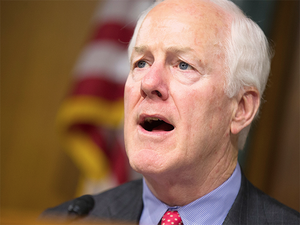 """""""The safety and stability of the Asia-Pacific region in particular will depend more and more on the safety and stability of India,"""" Senator John Cornyn said."""