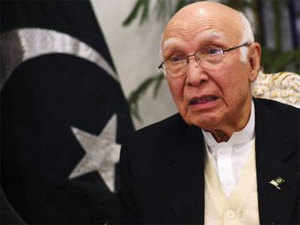 The outburst by Sartaj Aziz, the Advisor to the Prime Minister on Foreign Affairs, came after the US strongly backed India's bid for membership to the NSG.