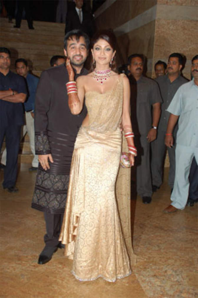 Shilpa Shettys Wedding Reception