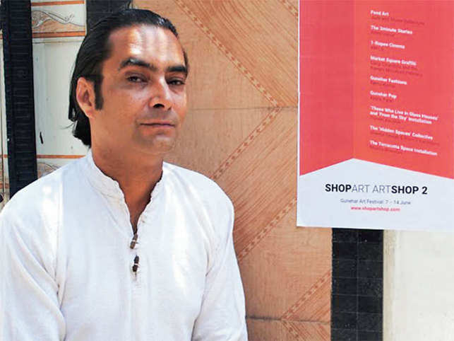 Frank Schlichtmann, a German-Indian art impresario, under his 4tables project is organising the second edition of Shopart Artshop, a month-long conceptual art event.