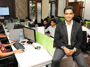 Zerodha is an online broking firm that formed its strong base in the initial phase, giving tough competition to its rivals and brokers.  In pic: Nithin Kamath, Founder, Zerod