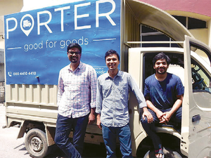 A fleet of startups is following an Uber-like model to organize truckers, track consignments and take the unreliability out of the logistics sector.