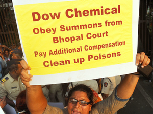 Recently, the district court for the fourth time has issued notice to Dow Chemical to appear before it on July 13, Sarangi said.