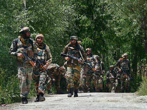 Five soldiers were injured in the operation that started yesterday and one of the jawans later succumbed to his injuries, an army official said today.