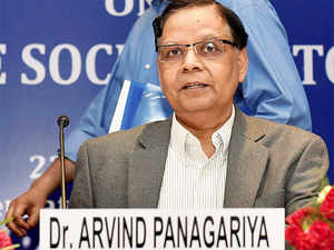 India's economic growth will cross the 8 per cent-mark this fiscal on the back of good monsoon and pick up in manufacturing, NITI Aayog Vice-Chairman Arvind Panagariya has said.