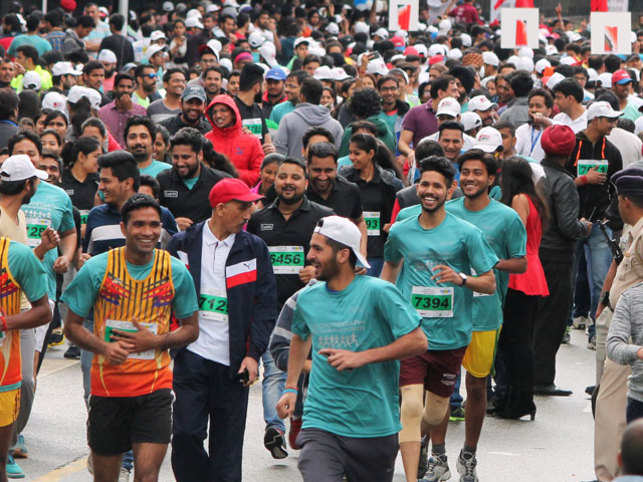 The Great India Run, which is a joint effort of ProSportify and technology start-up MobieFit, will start its journey from New Delhi on the 10th of July and culminate in Mumbai on 30th July. (Represemtative image)