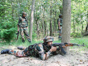 This was the second such infiltration bid foiled by the security forces along the LoC in Kashmir in three days.