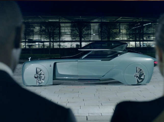 Rolls royce s new vision next concept car is