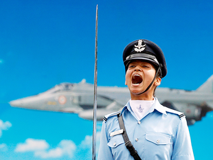 Three women fighters usher in a new chapter for the Indian defence forces, which have for long opposed the induction of women in combat roles.