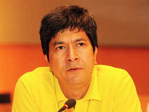 In a regulatory filing in May, Infosys had disclosed that it had paid out $3.44 million to Rajiv Bansal (in pic)-- who is currently the CFO at Ola -- during the 2015-16 fiscal.