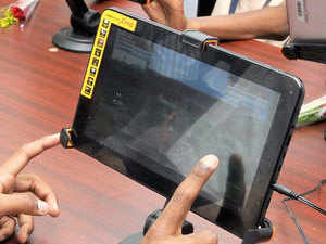 (Representative image) July's first quarterly Periodic Labour Force Survey (PLFS) will be conducted by researchers using tablets, and guided by what's known as computer-assisted personal interviewing (CAPI) technique.