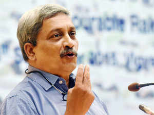 """About the timeline for having a CDS, Parrikar said, """"I won't give a timeline, but during the current financial year, I hope I am able to clinch the issue."""""""