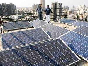 Solar plant in Maharashtra.