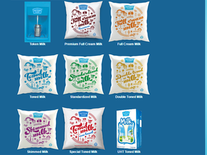 Sandeep Gosh, business head for milk at Mother Dairy said the new cow milk, which is light, digestive and nutritious, will be aimed at children aged 1 to 7 years.  (In pic: Different categories of Mother Dairy Milk)