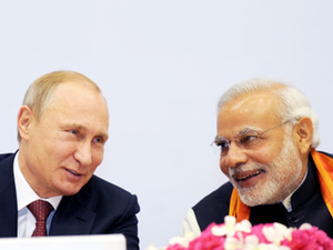 The meeting will take place at a time when energy hungry India is considering hydrocarbon projects in the Artic region in collaboration with Russia.