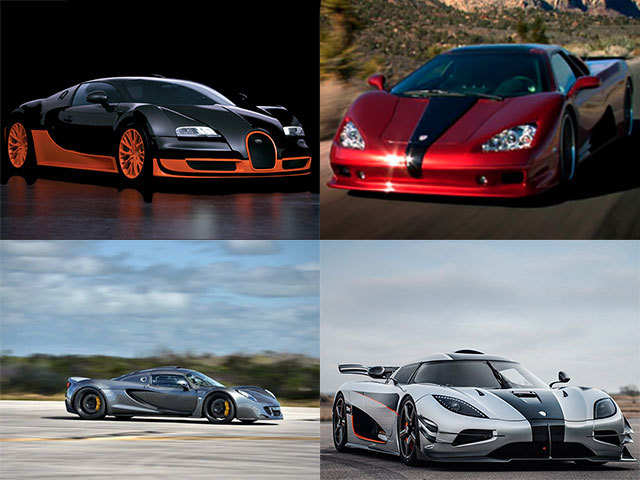 Take a look at the 5 fastest cars in the world - Take a look at the