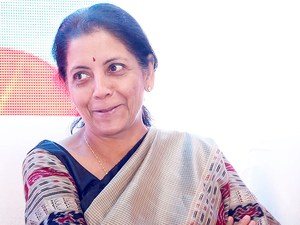 """It is a sector where India has gained a lot of advantage ... It has a great potential for job creation,"" Nirmala Sitharaman said."