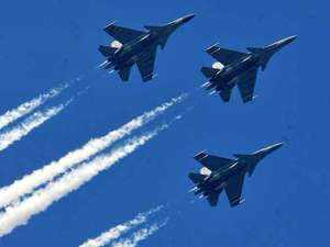 Now out of a planned fleet of 272 Sukhoi aircraft with the Indian Air Force, 143 would be flying with India-made MFDs - a critical component of an aircraft cockpit.
