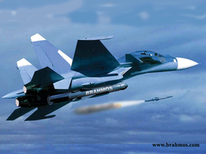 It is the first time in the world that such a heavyweight (2,500 kg) supersonic cruise missile has been integrated on a fighter aircraft, according to BAPL Chief.