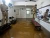 Police station gets flooded