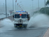 Water logging on Sion Panvel Highway