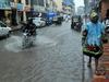 Rain in Mumbai city