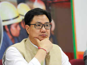 Kiren Rijiju today said the government is committed to ensuring peace and security and necessary action will be taken.