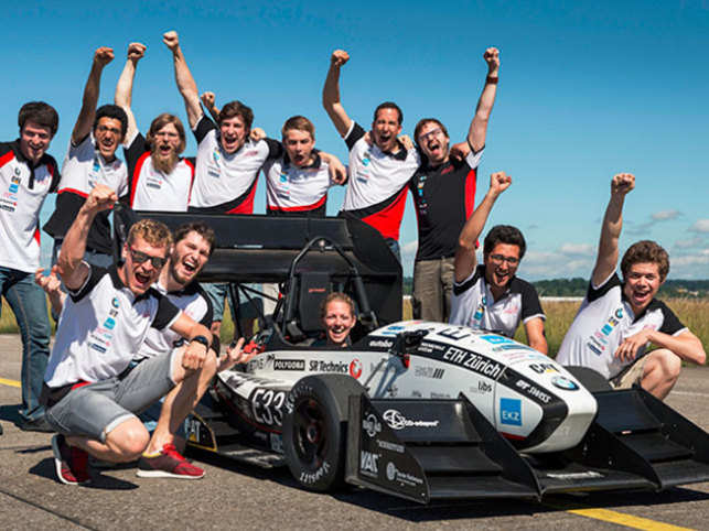 The grimsel electric racing car accelerated from 0 to 100 kilometres per hour (kph) in just 1.513 seconds to set the new world record.  	(Image: www.ethz.ch)