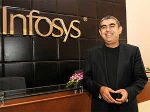 Infosys CEO Vishal Sikka is paid the most, and has the highest ratio of CEO compensation to median employee remuneration.