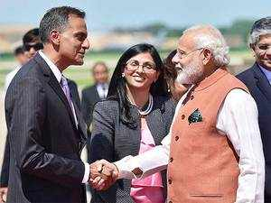 """""""We continued to welcome India's interest in APEC, and we strongly affirmed our support for India's accession into the multi-lateral export control regimes,"""" Richard Verma added."""