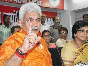 """""""The government is working to ensure that good trains run on right time,"""" Manoj Sinha said."""