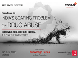 This conclave is first of the many initiatives that TOI/ ET CSR will be engaged in towards fighting the problem of drug abuse in India.