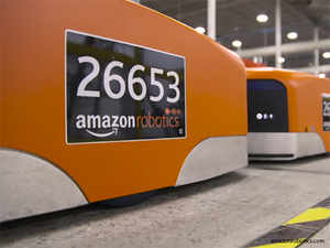 How Jeff Bezos Amazon Triggered A Robot Arms Race The Economic Times