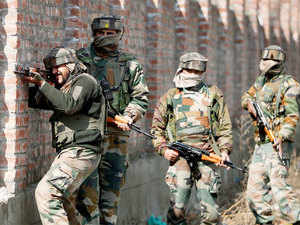 Security forces launched a search and cordon operation in Newa area of Pulwama district following information about presence of militants in the area.