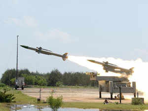 The missile with a strike range of 70 km was launched at 1020 hours from the Integrated Test Range(ITR) at Chandipur, a Defence statement said.