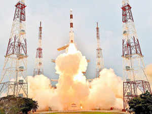 In a bold first move, ISRO is also opening its doors to the private sector to make not just components but full satellites.
