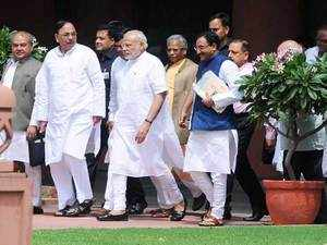 PM Modi  inducted 19 news ministers in his Cabinet and carried out a reshuffle of the portfolios of his ministers.