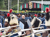 PM Modi during a Ceremonial Welcome in Nairobi