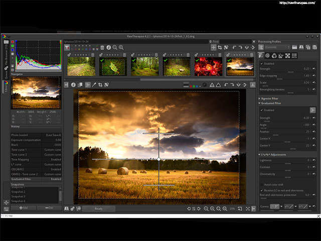 RawTherapee - 7 cool Photoshop alternatives you must try
