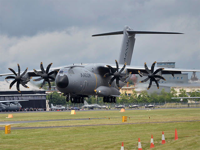Airbus A400M lands - 11 breathtaking images from the