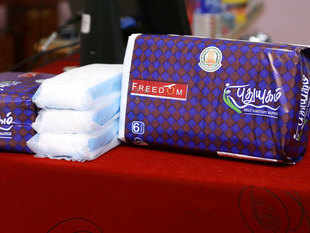 India is a relatively unexplored market for disposable napkin manufacturers, with less than 20% of the menstruating population using sanitary hygiene products.  (Representative image)