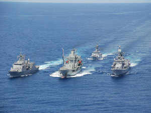 The four-day visit is demonstration of India's 'Act East' policy and Indian Navy's increasing footprint and operational reach.