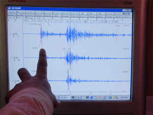 According to the National Centre for Seismology, a unit of Ministry of Earth Sciences, the epicentre of the quake was Indo-Pak border and it hit at a depth of 15 kms.