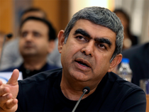 Sikka said the traditional way of delivering services is under a very structural threat and there is tremendous pricing pressure on it.  Image: EPA