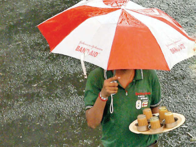 It is not just the vadi and samvadi, the most significant notes — Sa and Pa in this case — that evoke the many moods associated with heavy downpours.