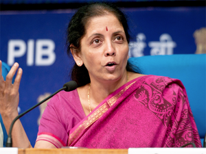 The total employment generation in 2015 stood at 1.35 lakh compared with 4.21 lakh in 2014, Nirmala Sitharaman said.